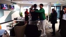 Open d'Australie 2020 - Novak Djokovic, locker room Australian Open's Trophy