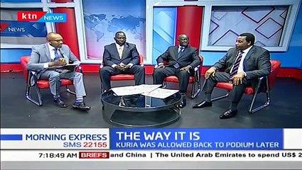 Defiant DP William Ruto seems to take on President Uhuru