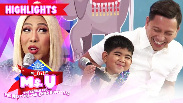 Yorme tells his message for parents giving too much commands | It's Showtime Mini Miss U
