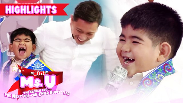 Yorme has a poem for the madlang people | It's Showtime Mini Miss U
