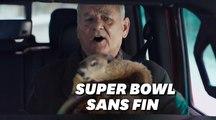 """Bill Murray a revécu """"Un Jour sans fin"""" pour le Super Bowl"""