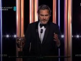 Joaquin Phoenix best actor speech - Bafta 2020 Joker