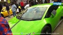 മല്ലിക സുകുമാരന് പറഞ്ഞ അതേ ലംബോര്ഗിനി, ഒപ്പം കൂട്ടുകാരും! വണ്ടറടിച്ചു ജനം Super Cars at Kottayam