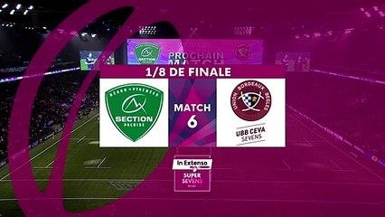 In Extenso Supersevens - Résumé Pau-Bordeaux-Bègles- 42-7 - 1/8e de finale - Saison 2019-2020