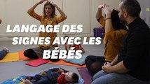 Pour communiquer avec votre bébé, apprenez-lui le langage des signes