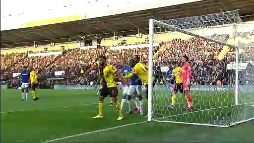 Watford - Everton (2-3) - Maç Özeti - Premier League 2019/20