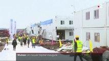 Coronavirus : ouverture à Wuhan de l'hôpital construit en dix jours