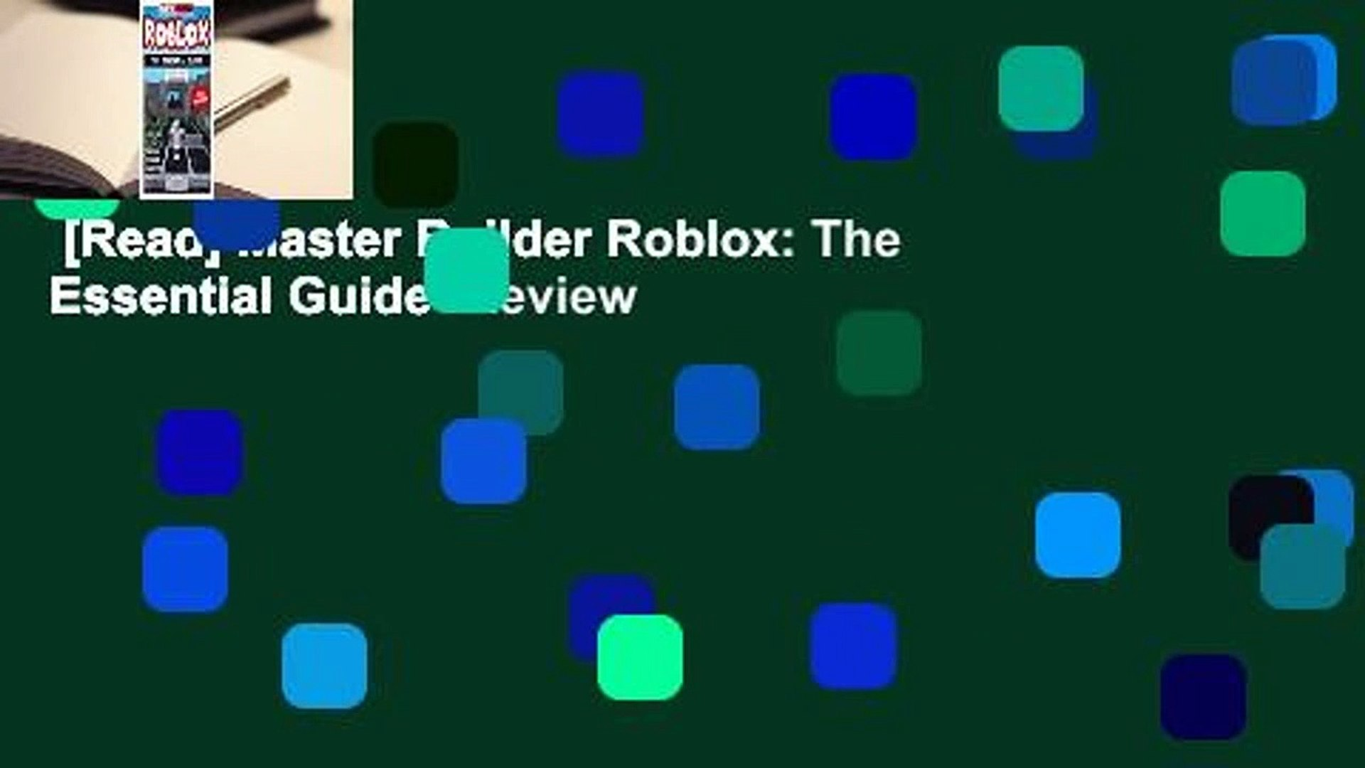 Roblox Studio Toolbox Broken Read Master Builder Roblox The Essential Guide Review Video Dailymotion