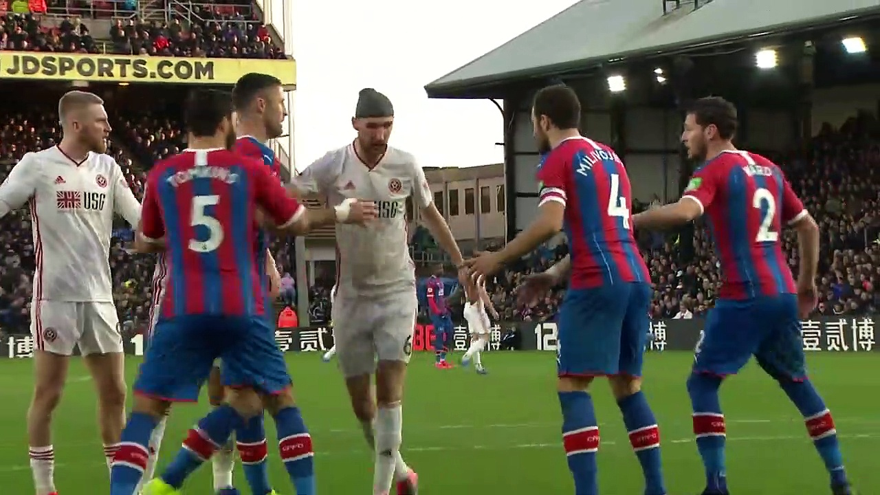 Crystal Palace - Sheffield United (0-1) - Maç Özeti - Premier League 2019/20