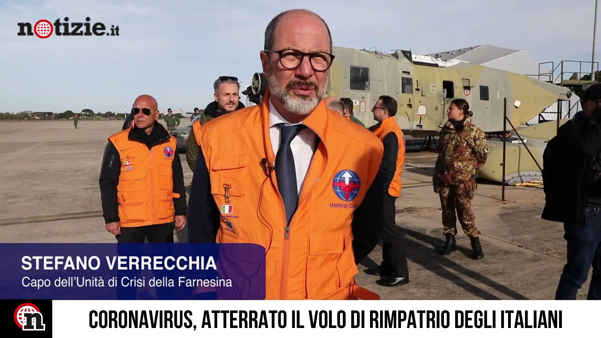 Coronavirus, rimpatriati gli italiani bloccati in Cina a Wuhan: le immagini | Notizie.it