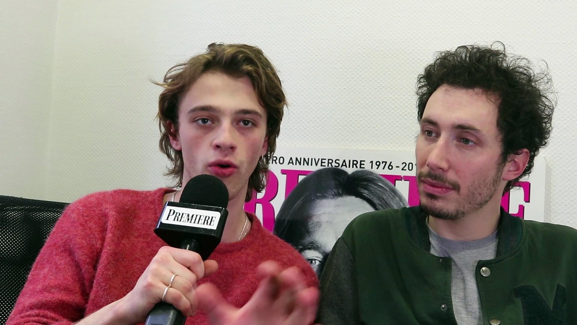Trio jeune gay