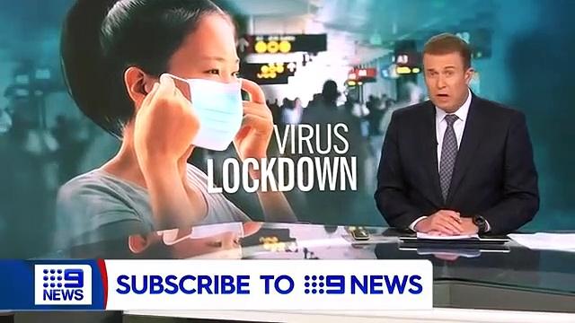 Chinese city in lockdown over coronavirus outbreak(360P)