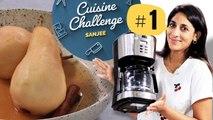 BONUS // Faire des poires pochées avec une machine à café - CUISINE CHALLENGE - 750g