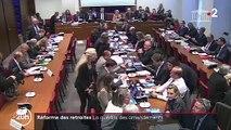 Réforme des retraites : 22 000 amendements pour ralentir les débats