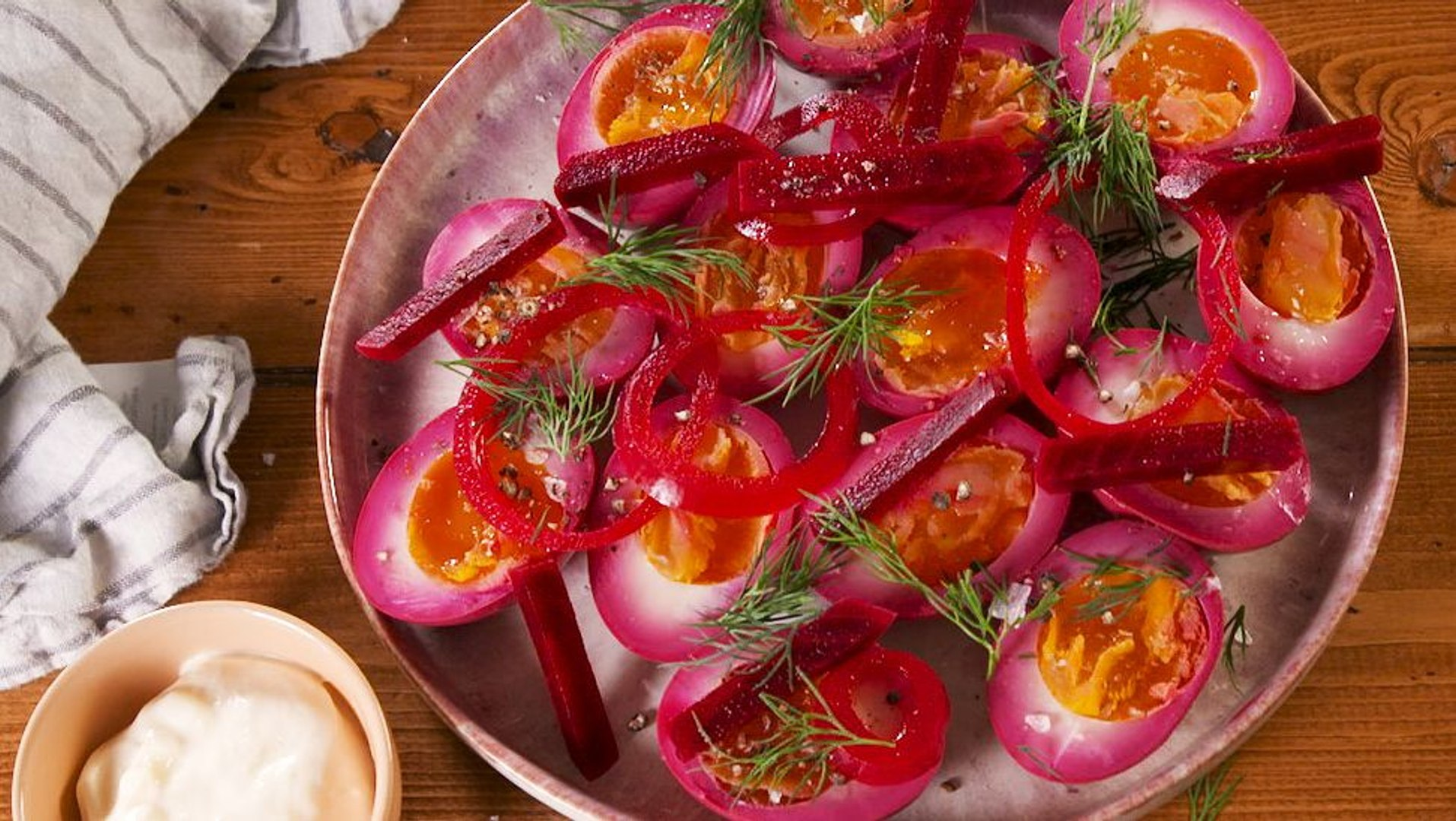 These Beet Pickled Eggs Are A Classic For A Reason