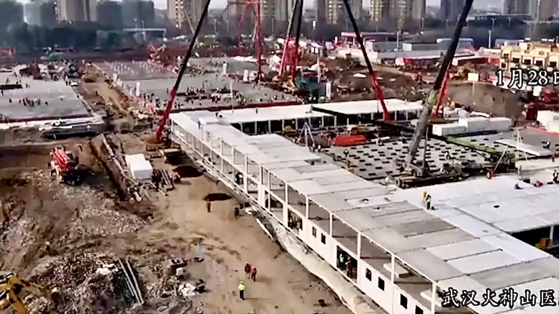 Incredible Timelapse - China Builds Corona Virus Hospital in 10 Days