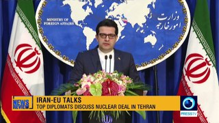 Top diplomats discuss nuclear deal in Tehran