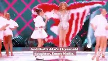 Jennifer Lopez's daughter was basically J.Lo 2.0 during the Super Bowl halftime show