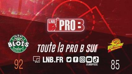 PRO B : Blois vs Vichy-Clermont (J18)