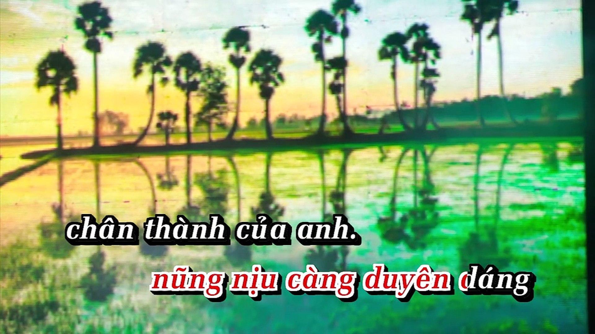 [Karaoke] Ninh Kiều Em Gái Cần Thơ - Dương Hồng Loan [Beat]