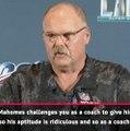 Mahomes' aptitude is 'ridiculous' - Reid on his star quarterback