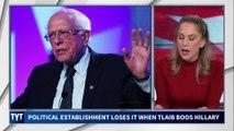 Establishment Freaks Out at Rashida Tlaib Booing Hillary Clinton
