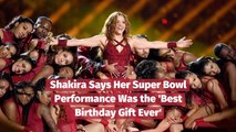 Shakira Is Super Bowl Grateful