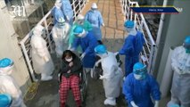 Newly-built hospital in Wuhan accepts patients infected with coronavirus