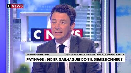 Benjamin Griveaux - CNews mardi 4 février 2020