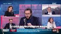Combien de questions Xavier Bertrand a-t-il posé à Jean-Jacques Bourdin ? ... Relevez le quiz du Professeur Magnien ! - 04/02