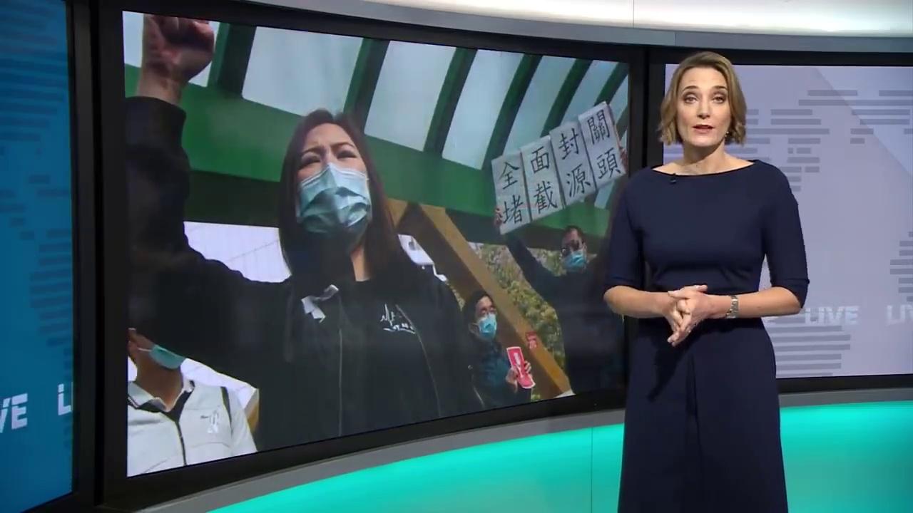 Coronavirus- China shares in biggest fall in four years – BBC News