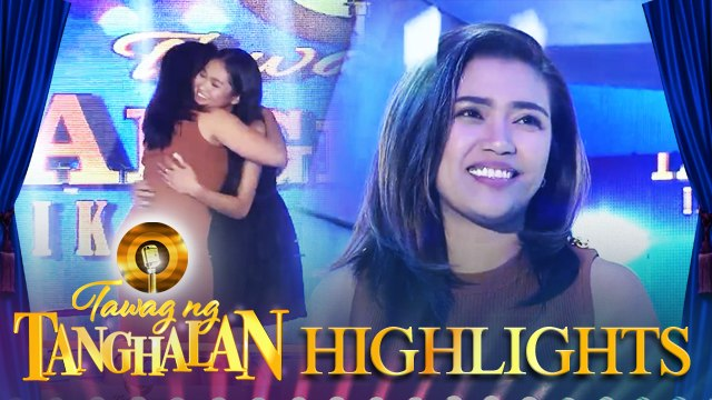 Paulette Cambronero steals the golden microphone from Cherry Lyn Pausal   Tawag ng Tanghalan