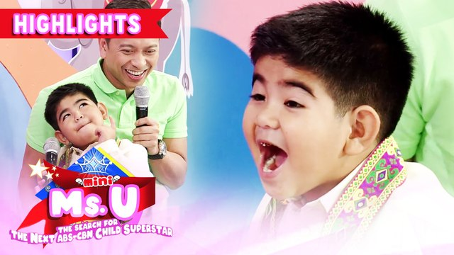 Vice asks Yorme to spell the word 'white' | It's Showtime Mini Miss U