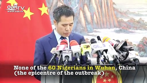 Coronavirus: No Nigerian is infected with the virus – China