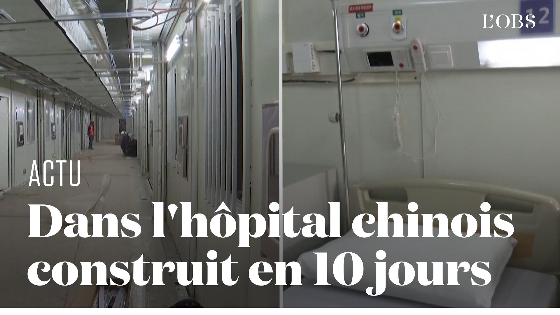 L'hôpital de Wuhan construit en 10 jours accueille ses premiers malades du coronavirus