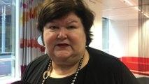 Interview de Maggie De Block après l'arrivée du coronavirus en Belgique