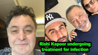 Rishi Kapoor back in Mumbai, clears air on health