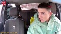 Rus taksi sürücüsünden tepki çeken 'koronavirüs şakası'