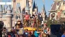 Mahomes enjoys traditional MVP's day at Disney World
