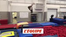 L'impressionnante figure de Simone Biles - Gymnastique - OMG