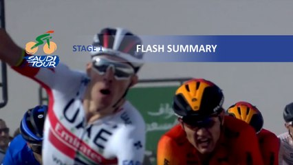 Saudi Tour 2020 - Stage 1 - Flash summary