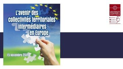 """""""Propos conclusifs"""", Sébastien Denaja, MCF Université Toulouse Capitole, @IMH_ L'avenir des collectivités territoriales_13_ Propos conclusifs"""