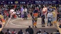 Hakuho vs Daieisho - Hatsu 2020, Makuuchi - Day 1