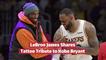 LeBron James Gets Tattoo For Kobe Bryant
