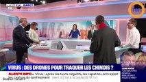 Coronavirus : en Chine, des drones surveillent la population