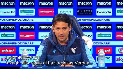 La conferenza stampa di Inzaghi alla vigilia di Lazio-Hellas Verona