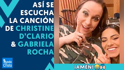 Christine D'Clario & Gabriela Rocha graban ADORACIÓN juntas