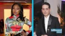 Megan Thee Stallion Sets the Record Straight on G-Eazy Dating Rumors | Billboard News