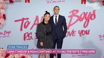 Lana Condor and Noah Centineo Pose Together at 'To All The Boys' Sequel Premiere