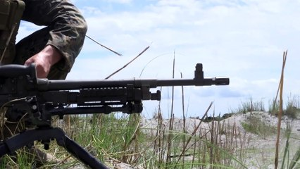 U.S. Marines Conduct a Live Fire Range for Exercise Balikatan